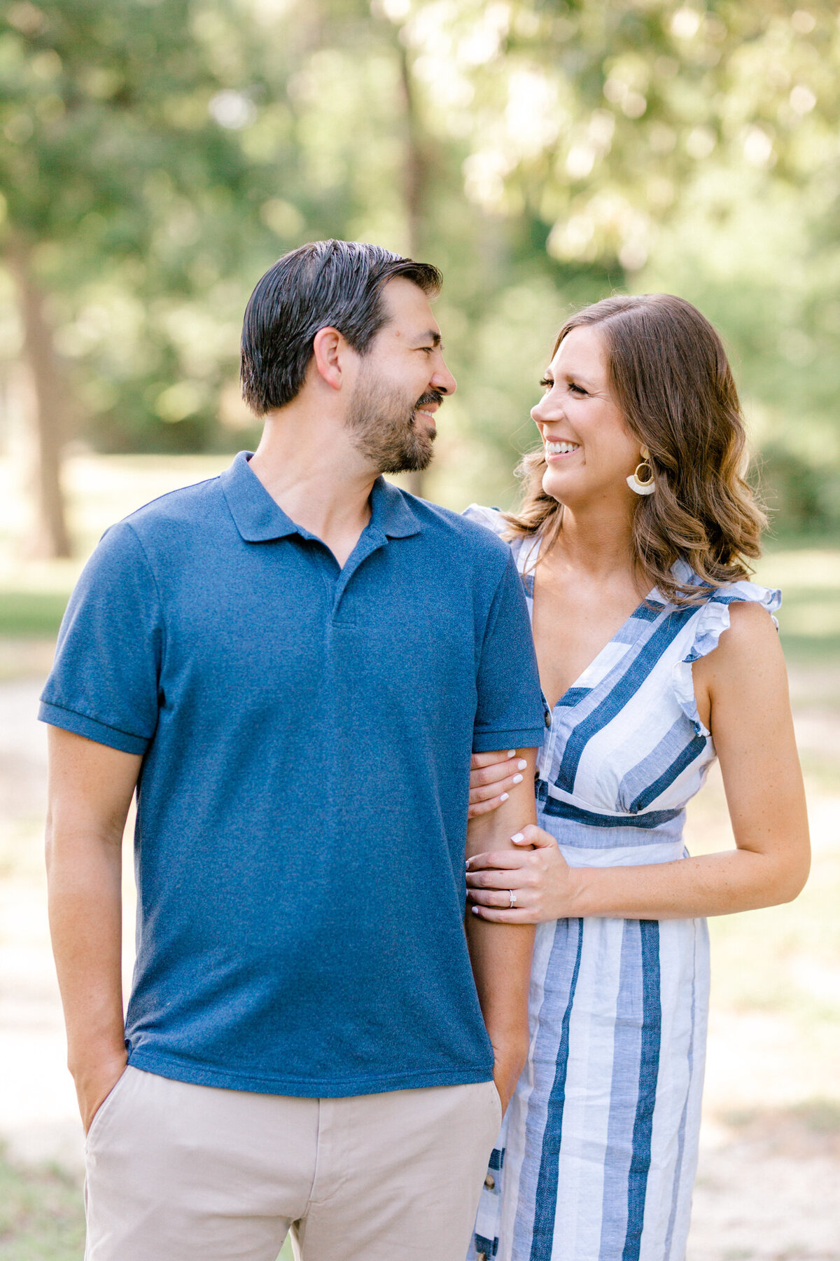 Catherine & Clint Engagement Session at White Rock Lake | Sami Kathryn Photography | Dallas Wedding & Portrait Photographer-2