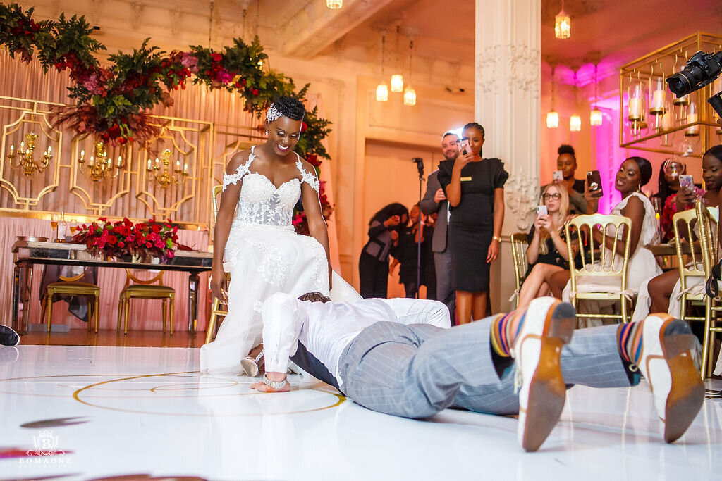 Black Wedding Planner Dallas Scottish Rite Wedding Nigerian Wedding Planner Dallas (231)