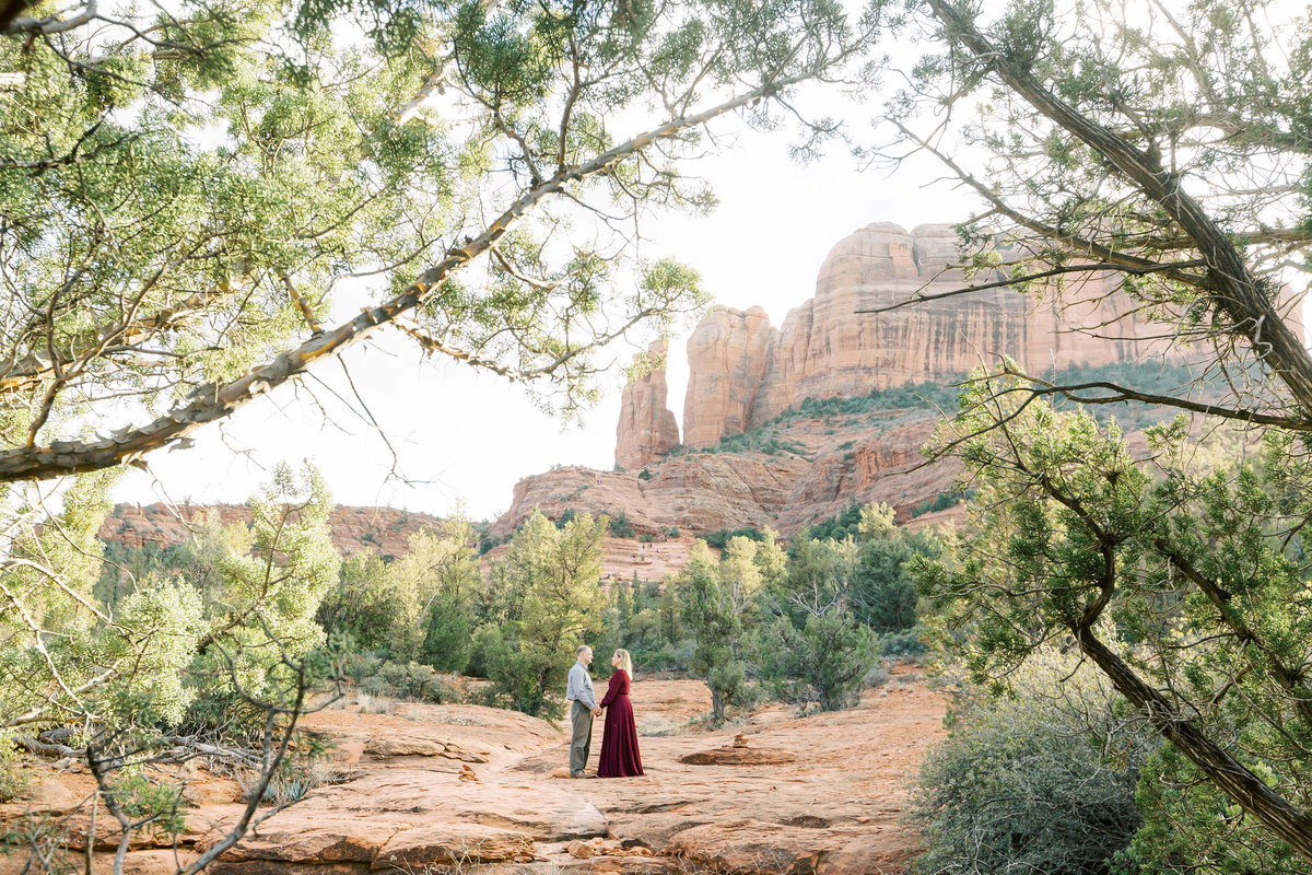 Cathedral Rock Engagement-2