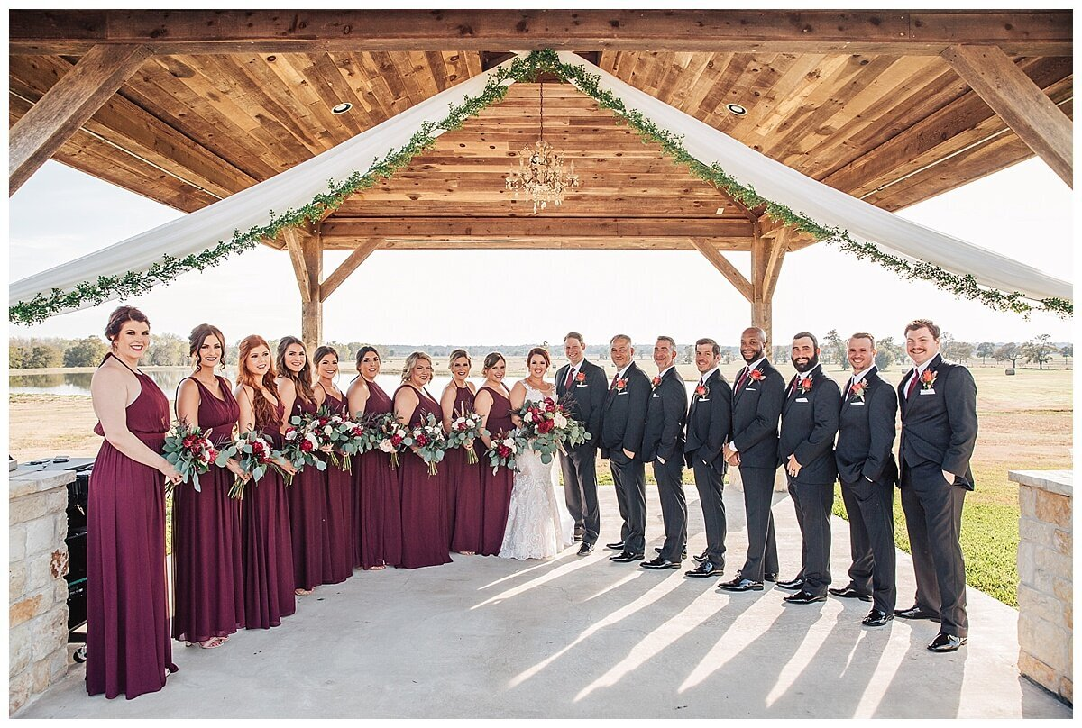 Houston Wedding Planner for Glam Boho Inspired Wedding- Wedding Party Photos at Emery's Buffalo Creek- J Richter Events_0000