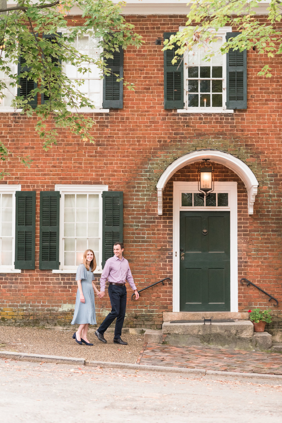 An Old Salem Engagement Session, Michelle & Sara Photography, Winston Salem NC9