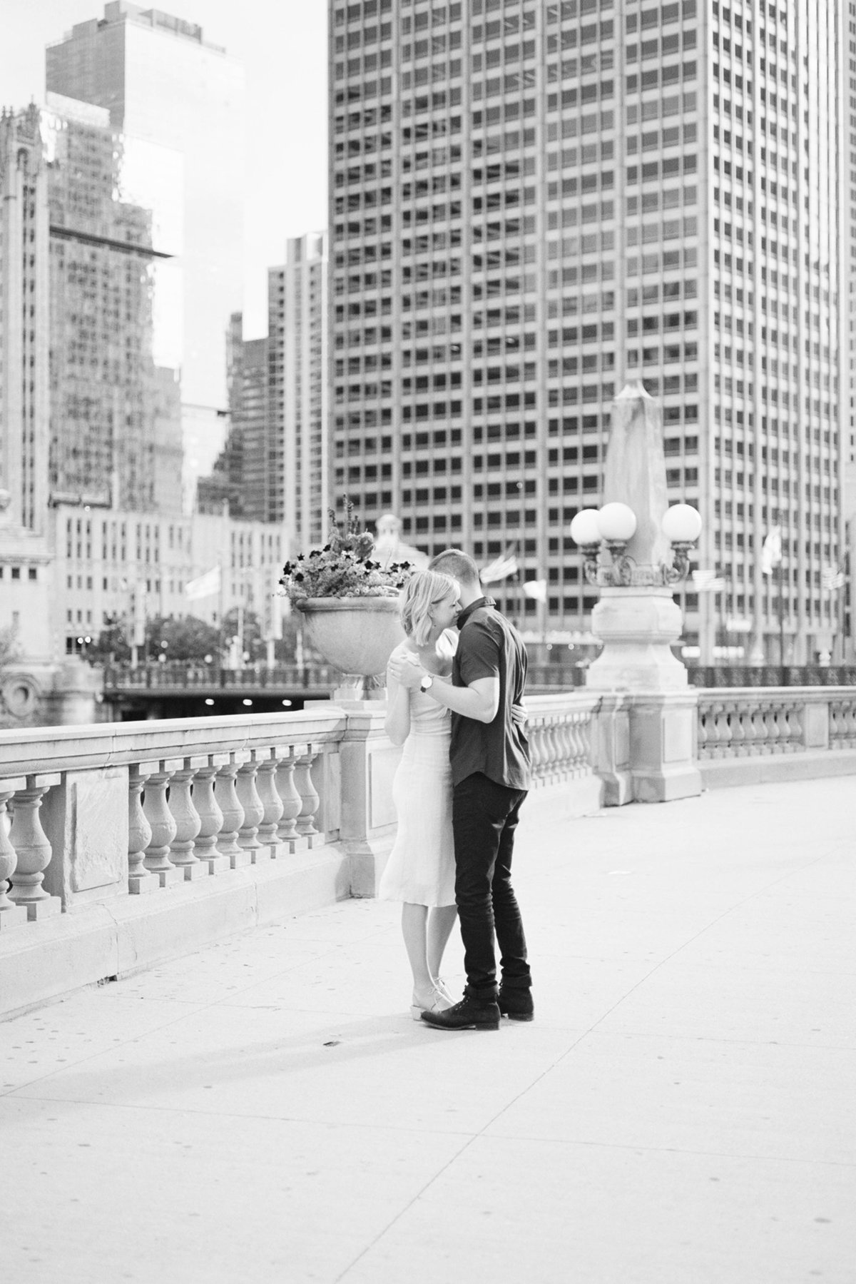 Chicago Wedding Photographer - Fine Art Film Photographer - Sarah Sunstrom - Sam + Morgan - Engagement Session - 6