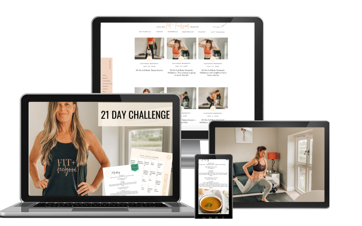 Fit and Feelgood online home workouts | Kt Chaloner