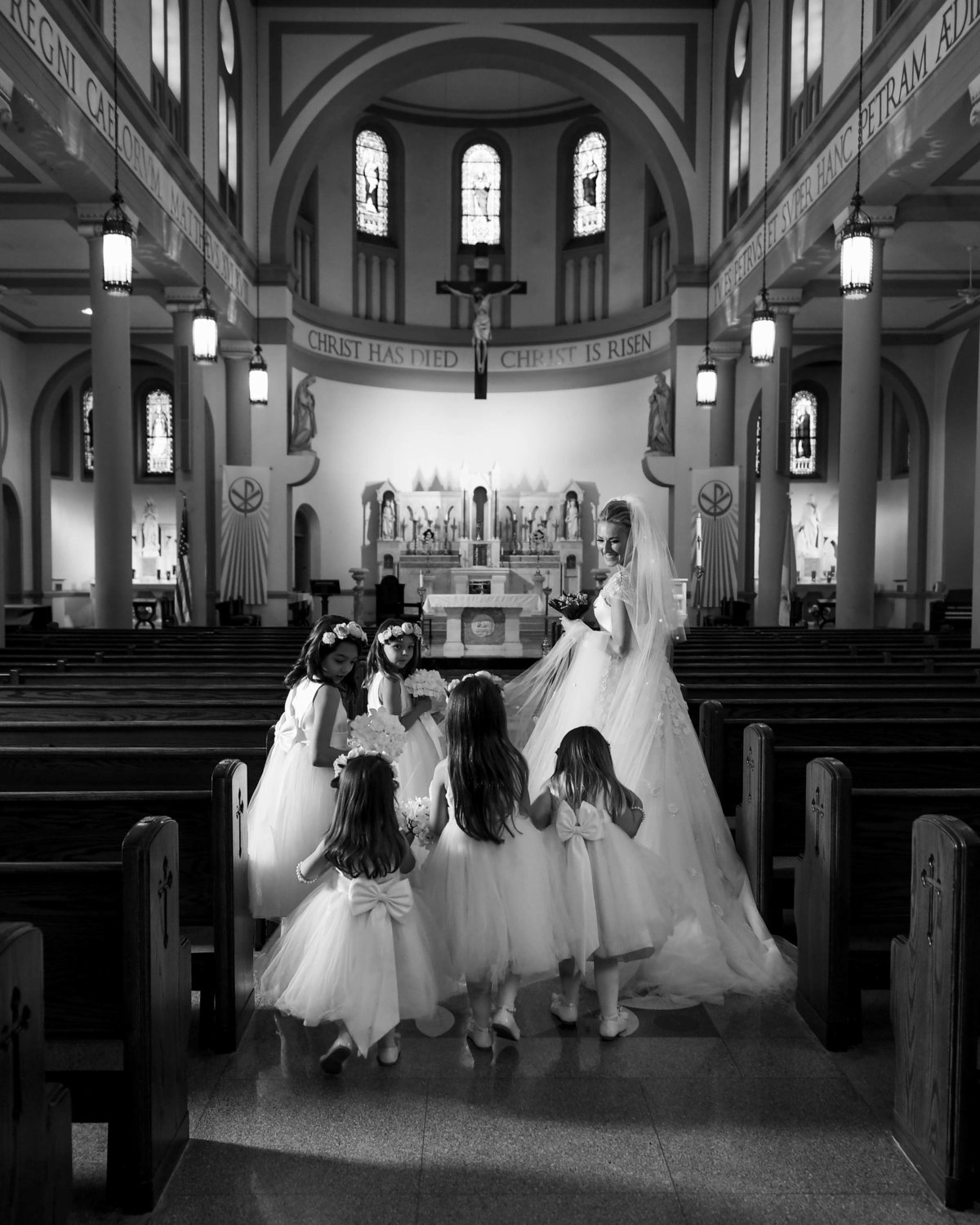 St. Peter's Wedding by Washington DC Wedding Photographer, Erin Tetterton Photography