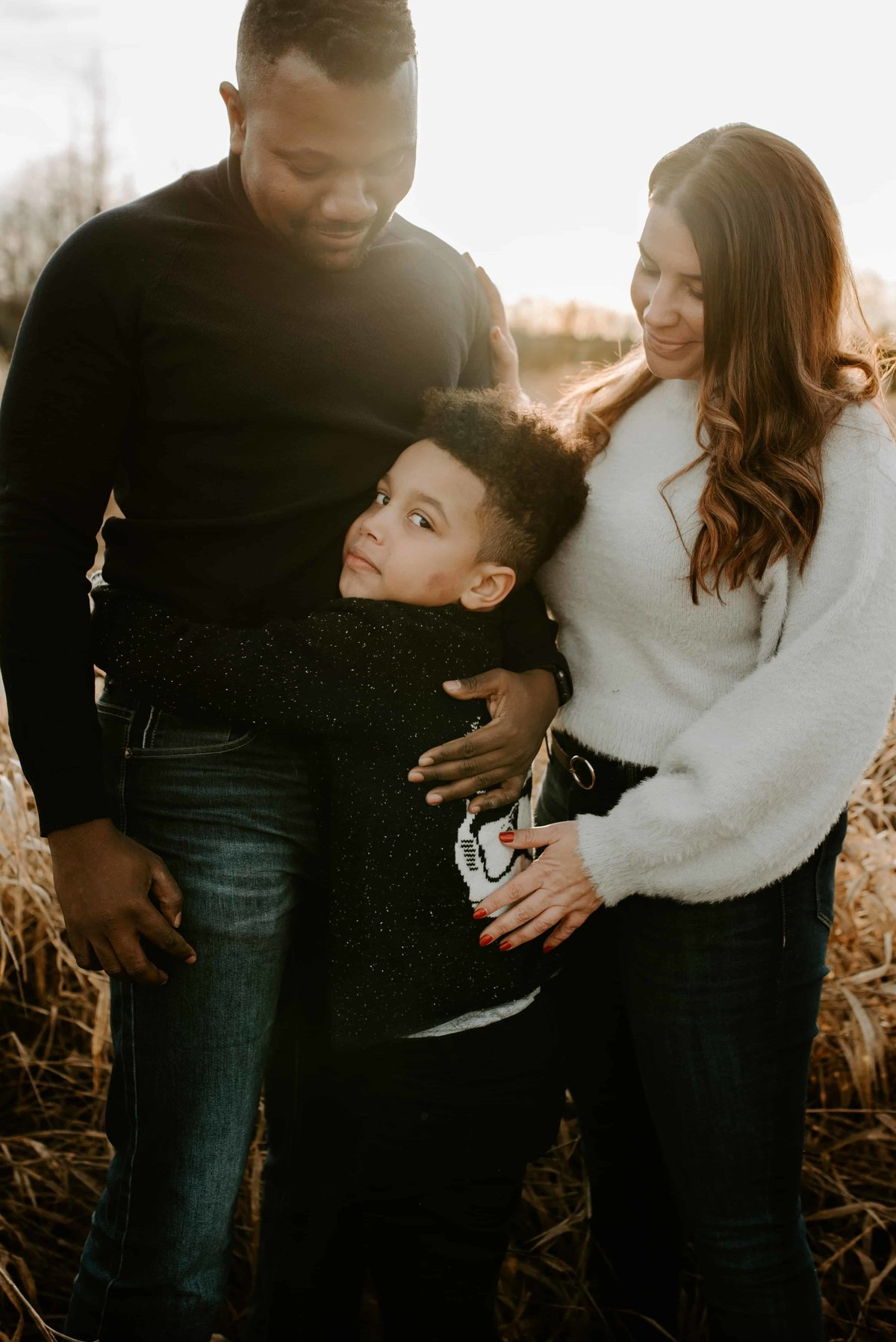 blended family photography session
