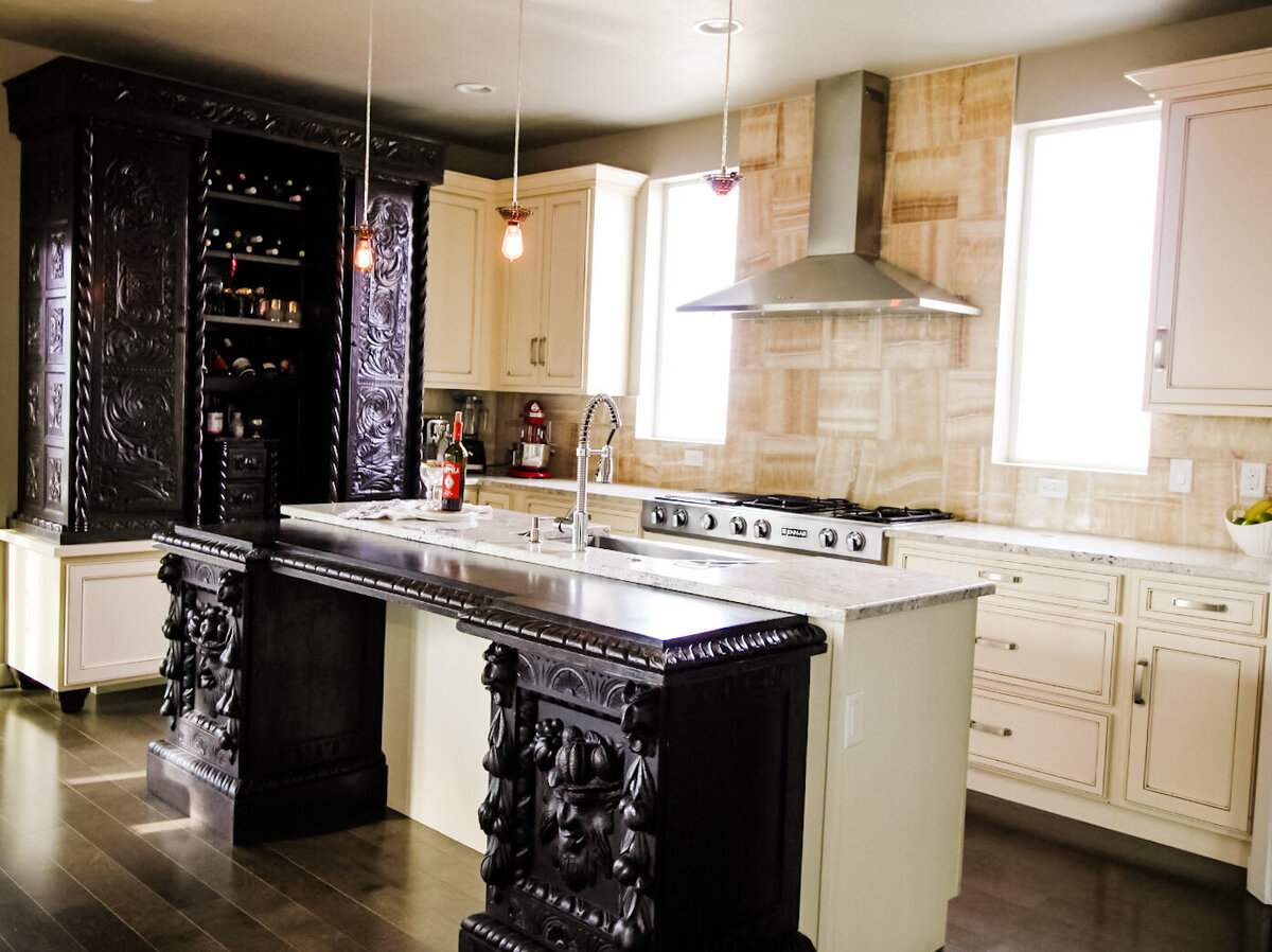 Jet and Tristy Kitchen Design