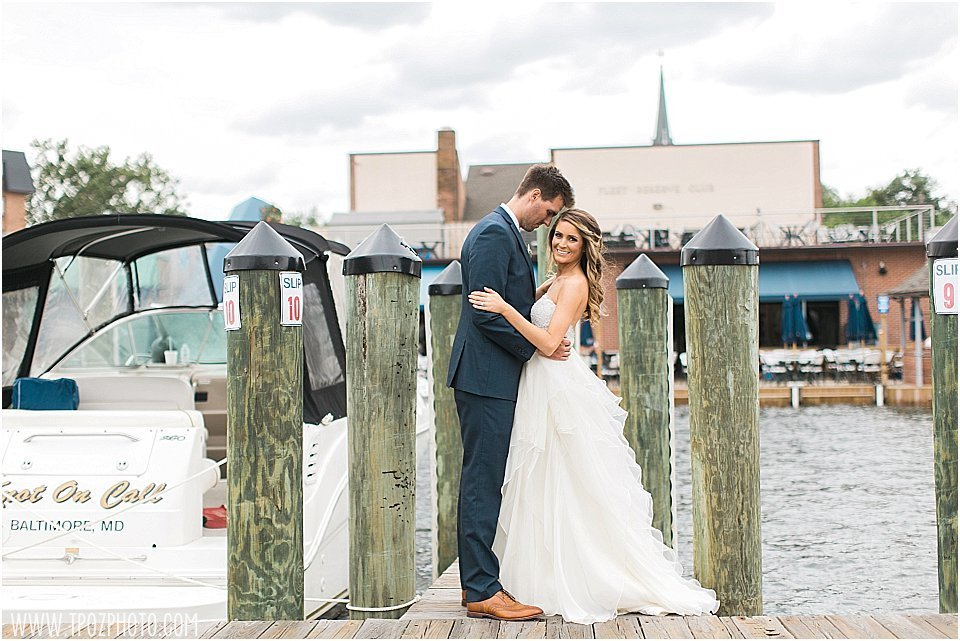 Annapolis wedding docks