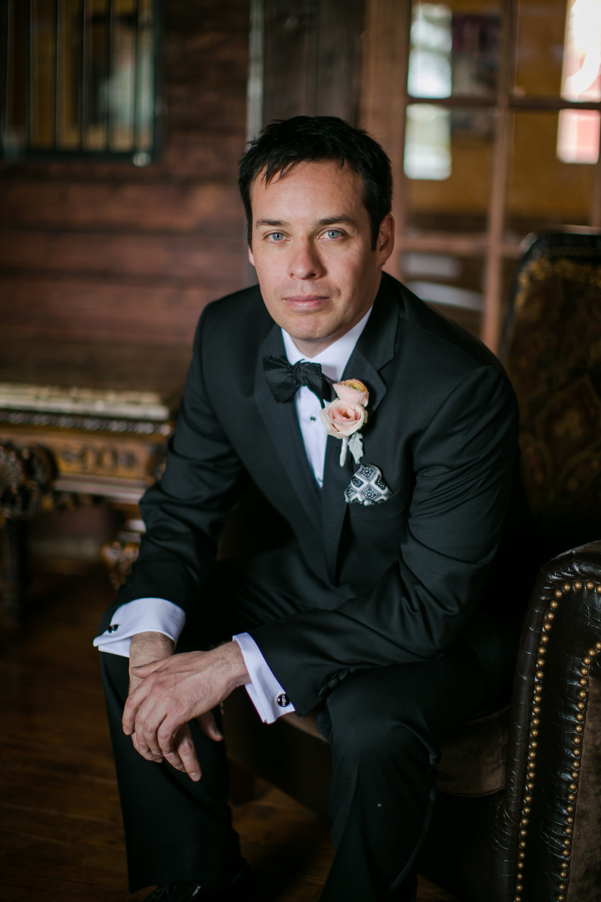 groom at crooked willow