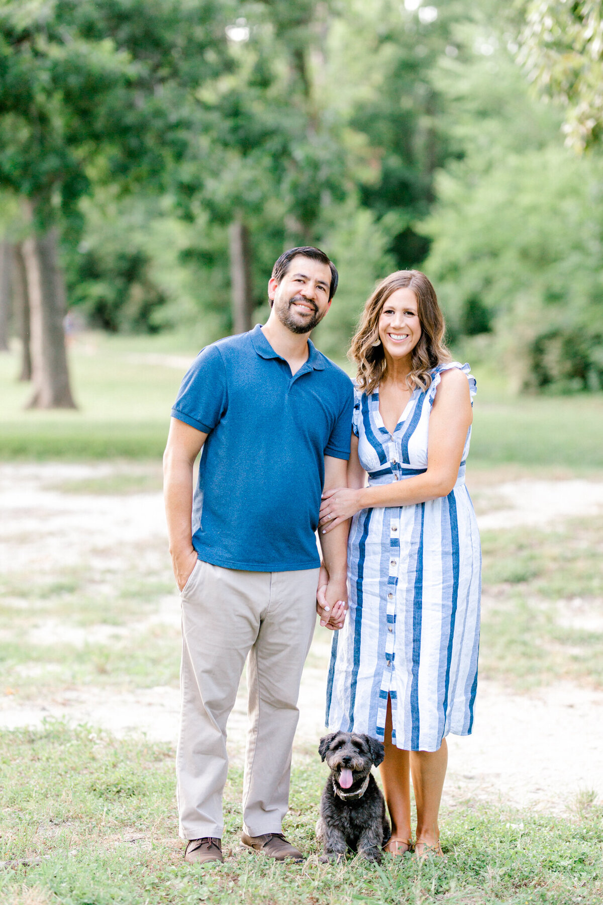 Catherine & Clint Engagement Session at White Rock Lake | Sami Kathryn Photography | Dallas Wedding & Portrait Photographer-4