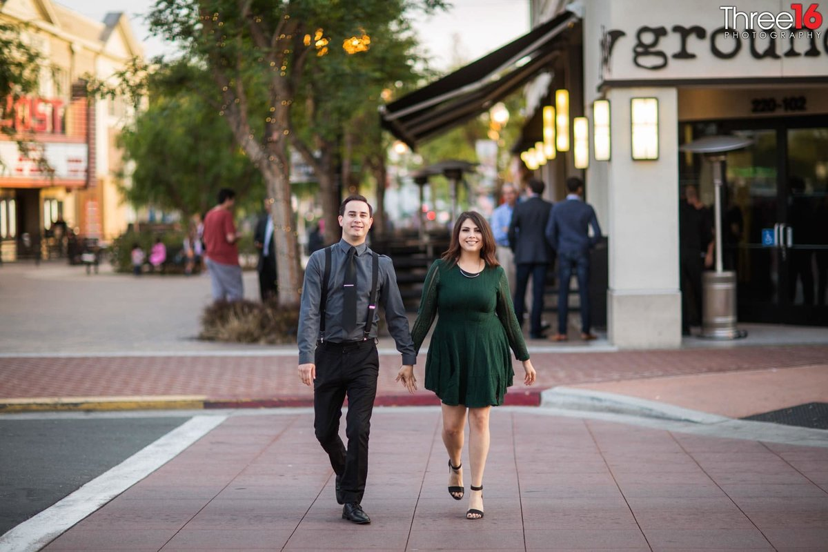 Yost Theater Engagement Photos Santa Ana Orange County Weddings Professional Photography