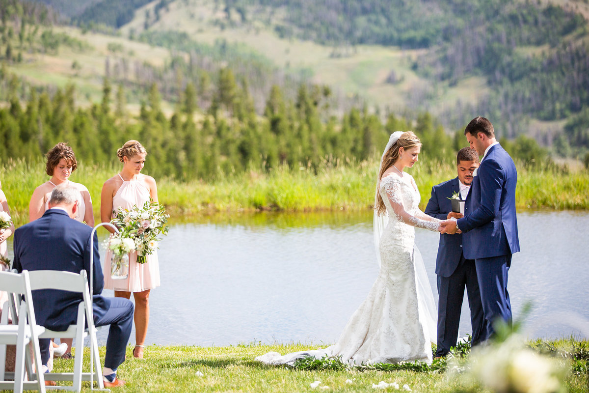 Strawberry-Creek-Ranch-Wedding-Ashley-McKenzie-Photography-Romantic-Mountain-Affair-Navy-Blush-Colorado-exchange-of-the-rings