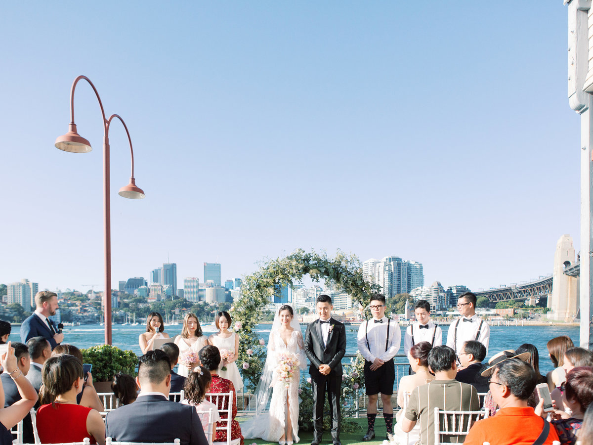 luxurious waterfront sydney pier one wedding jack stephanie0036