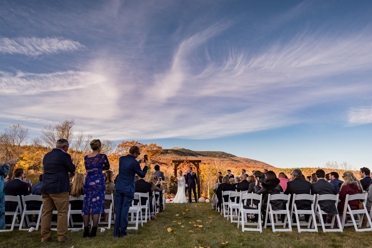 outdoor ceremony venue and barn NH