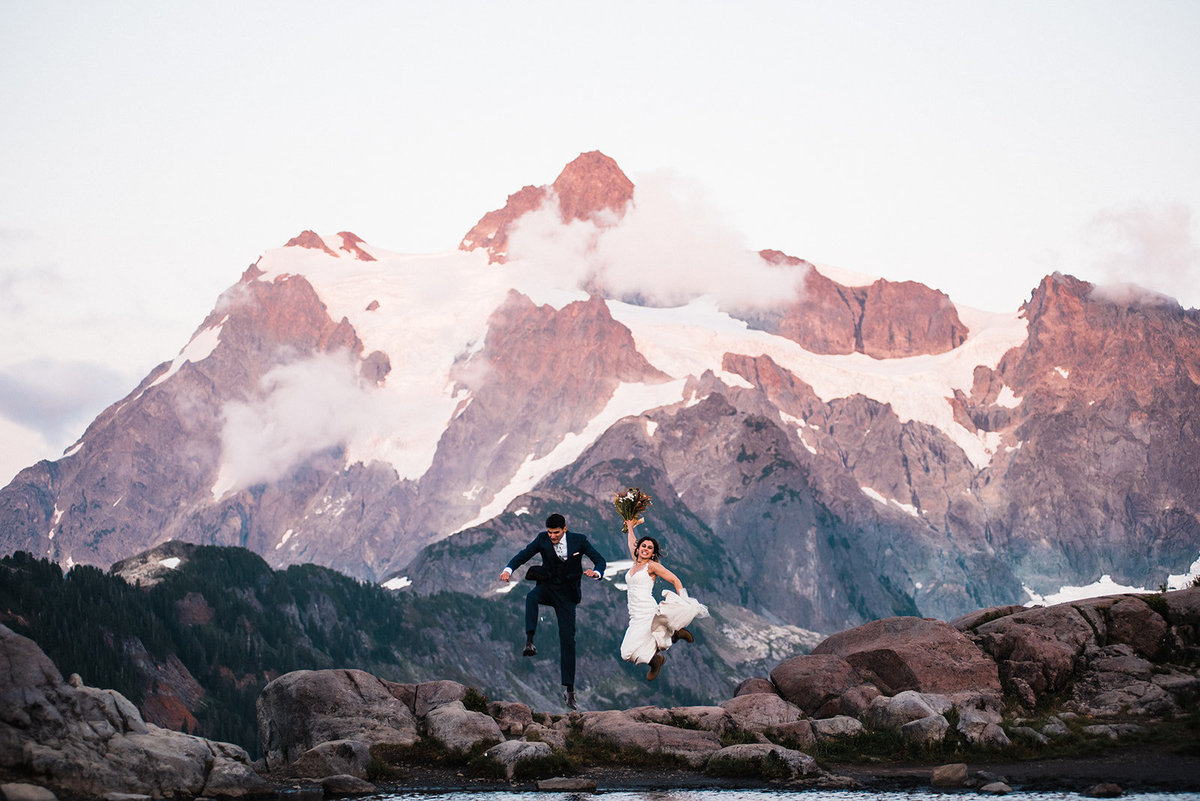 Artist Point Mount Baker PNW Elopement Adventure Wedding Planner