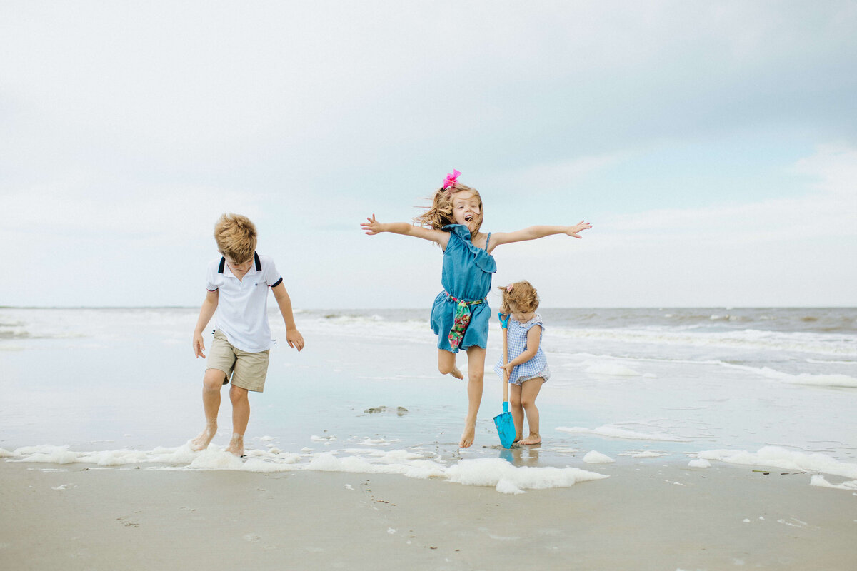 Tybee Island family portrait session