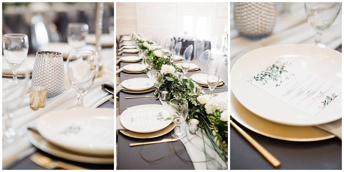 Elegant-White-Barn-Wedding-Guest-Table-Places