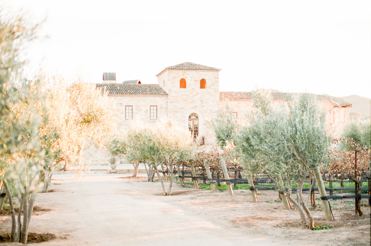 California Wine Country Wedding Private Estate Villa