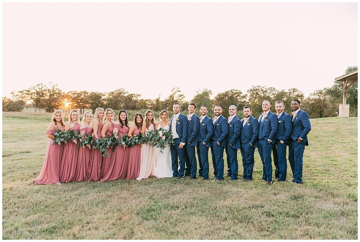 Rustic Greenery Indoor Outdoor Wedding at Emery's Buffalo Creek - Houston Wedding Venue_0129