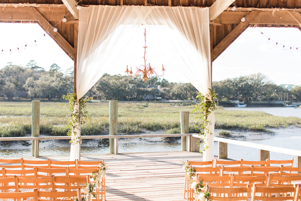 Amanda and Brent - Boone Hall Wedding - Ceremony Details - 001_