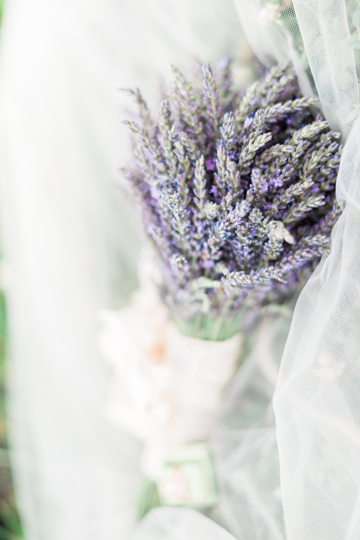Romantic Wisteria Bridal Bouquet for Wedding