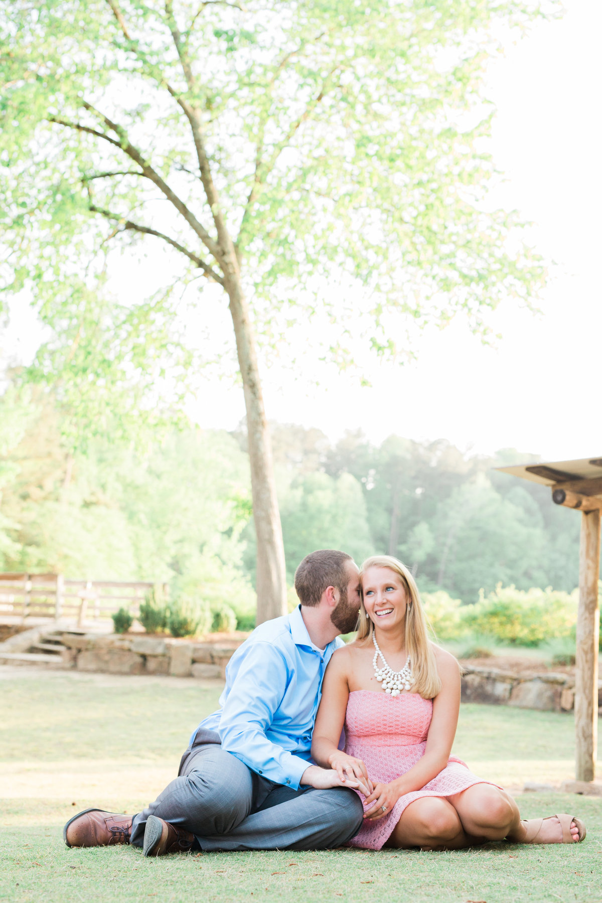 Yates Mill engagement session
