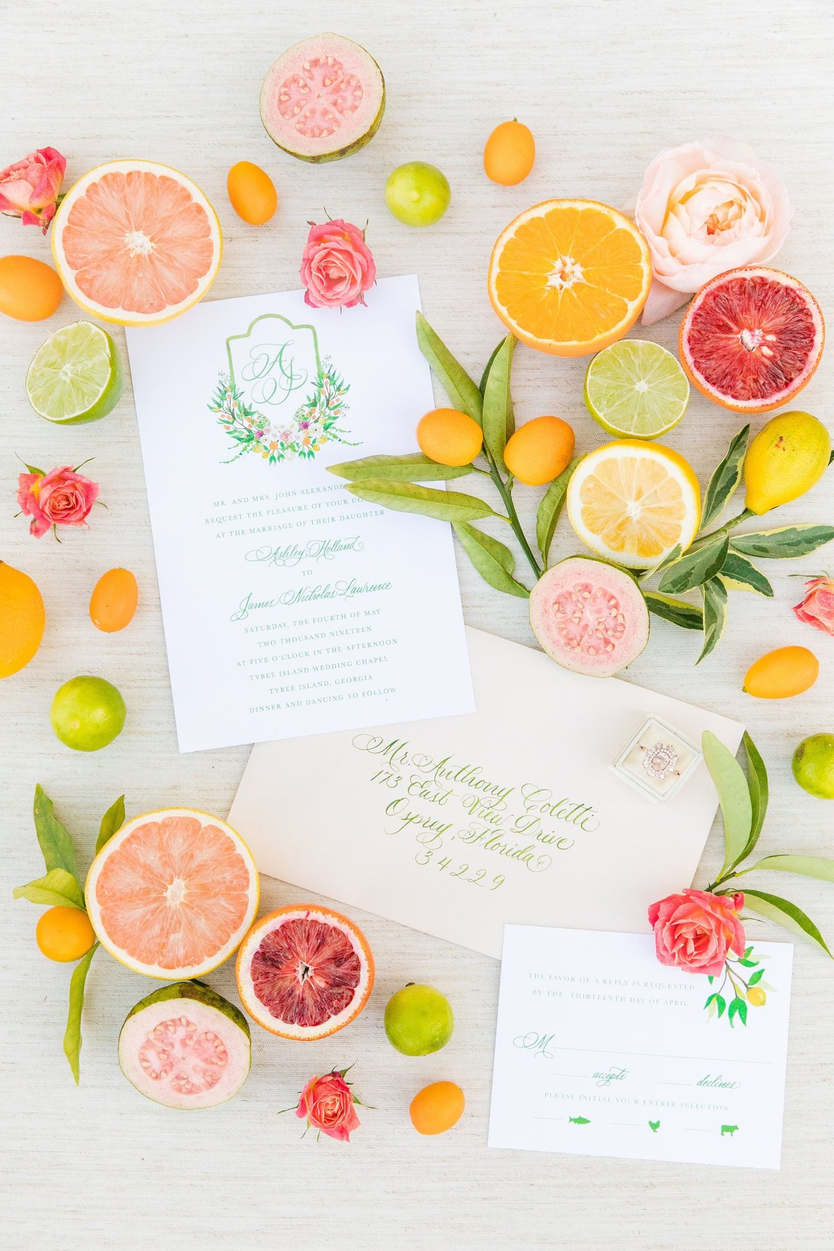 Tybee Island Wedding Planner Tara Skinner Occasions Magazine Citrus Editorial (16)