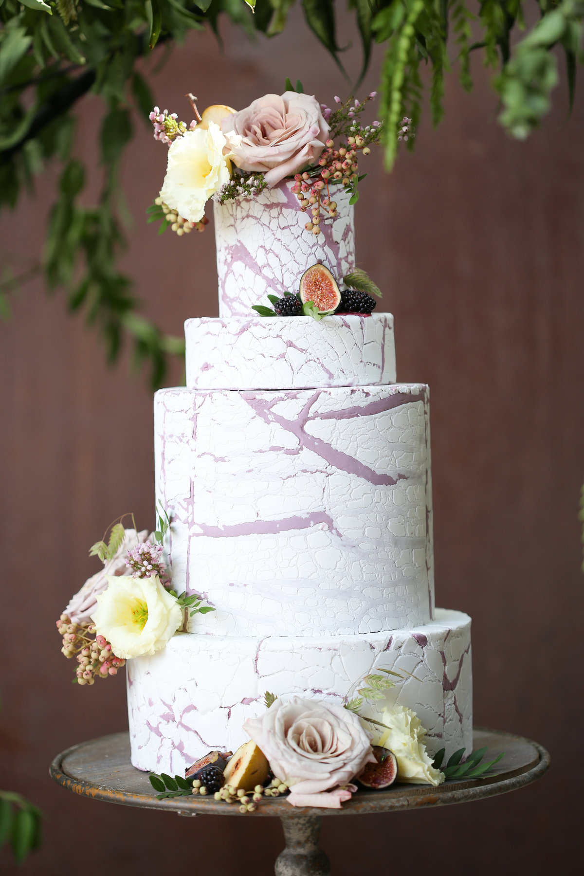 Tuscan Styled Shoot - Petals & Pastries Cake - Mariam Saifan Photography
