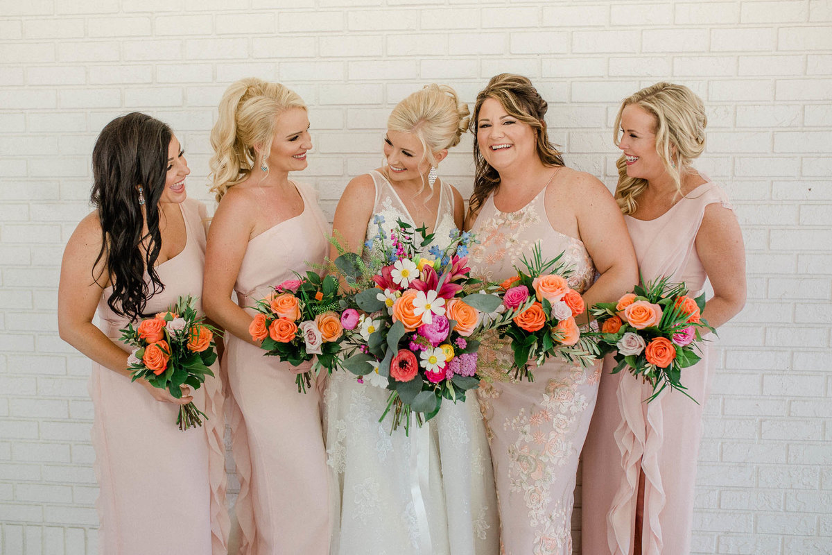 Blush Bridesmaids at Plantation on Crystal River