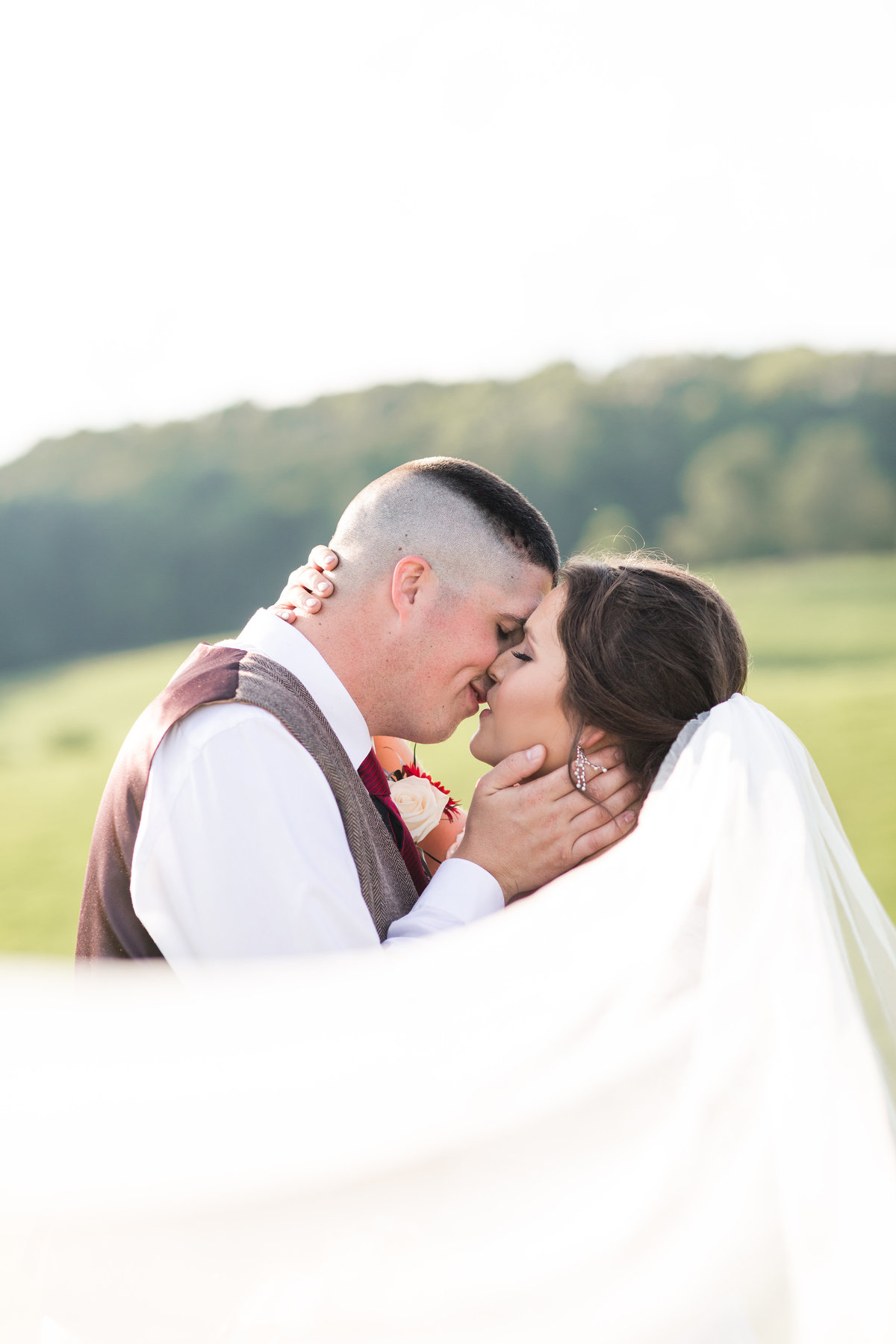 MIddlefork Barn Red & Sunflower Wedding
