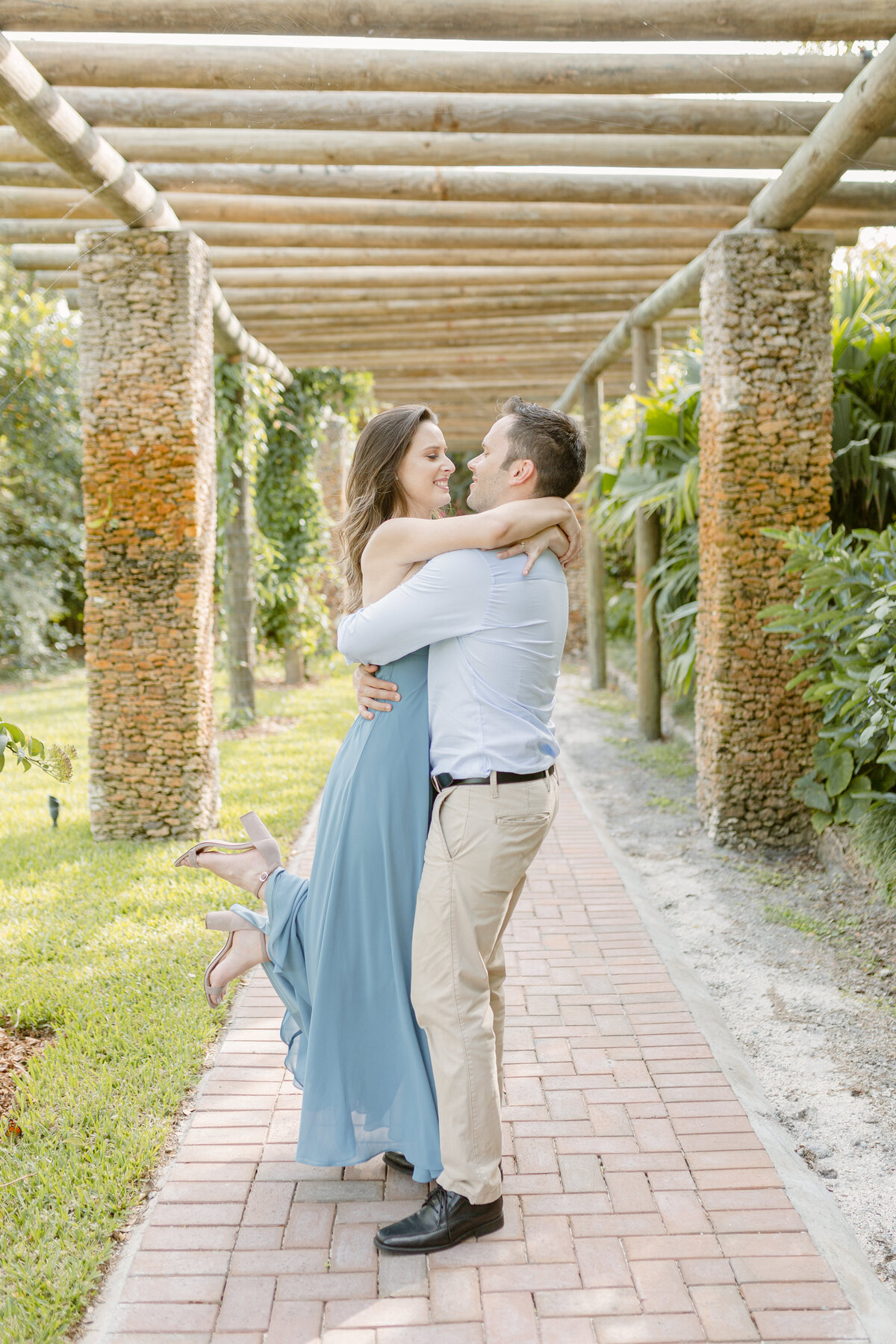 Fairchild Tropical Gardens Engagement Photography Session 7