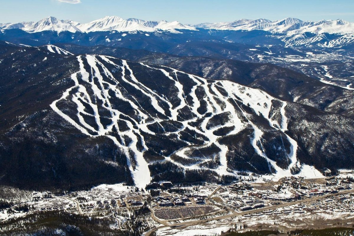 Keystone Ski Resort Aerial Photo