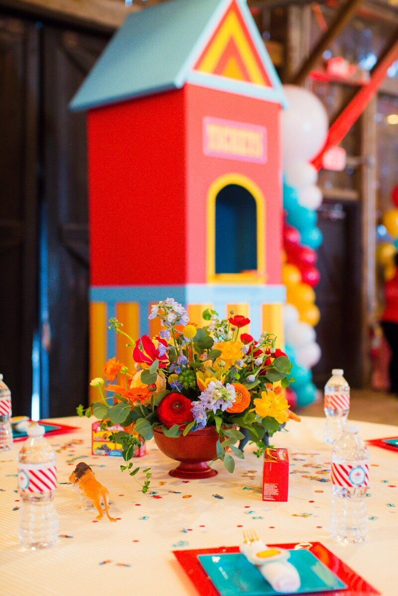 Circus Themed 1st Birthday Indianapolis Party Planner_0041