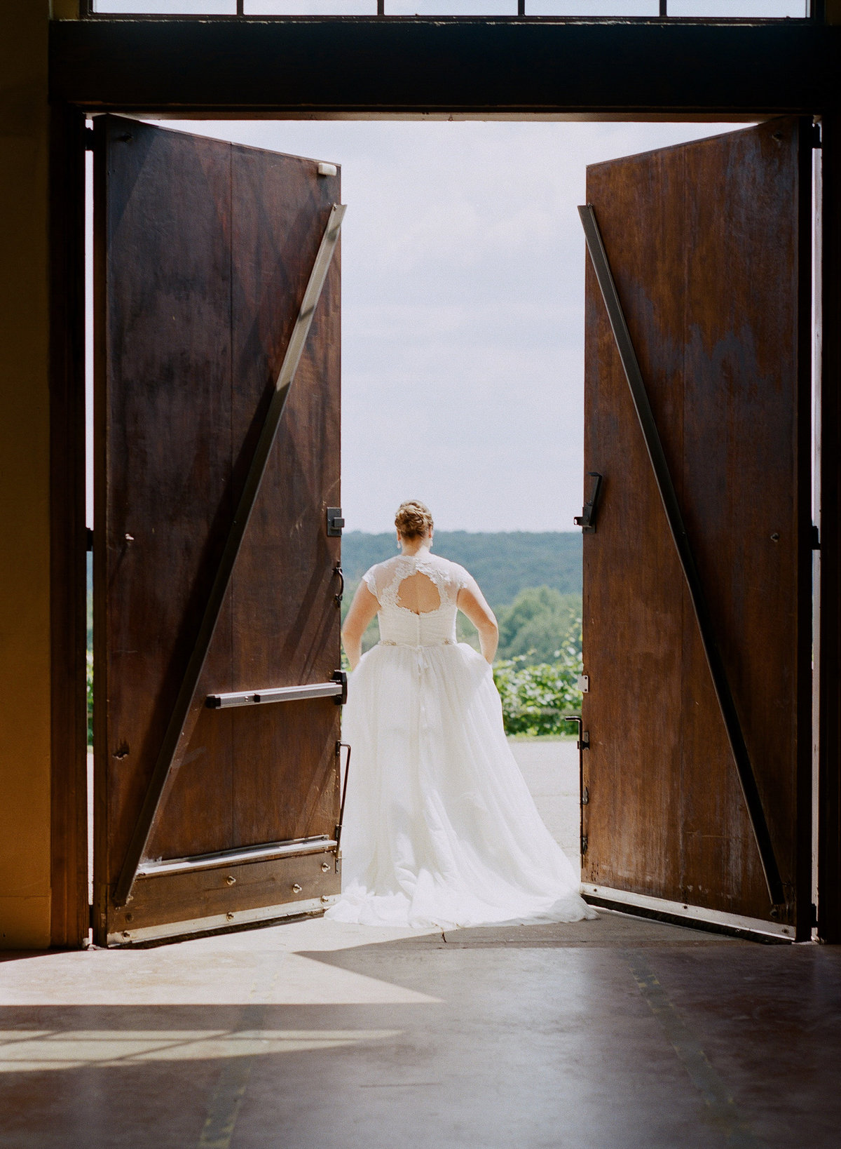 Montaluce Winery Wedding Bridal Portrait