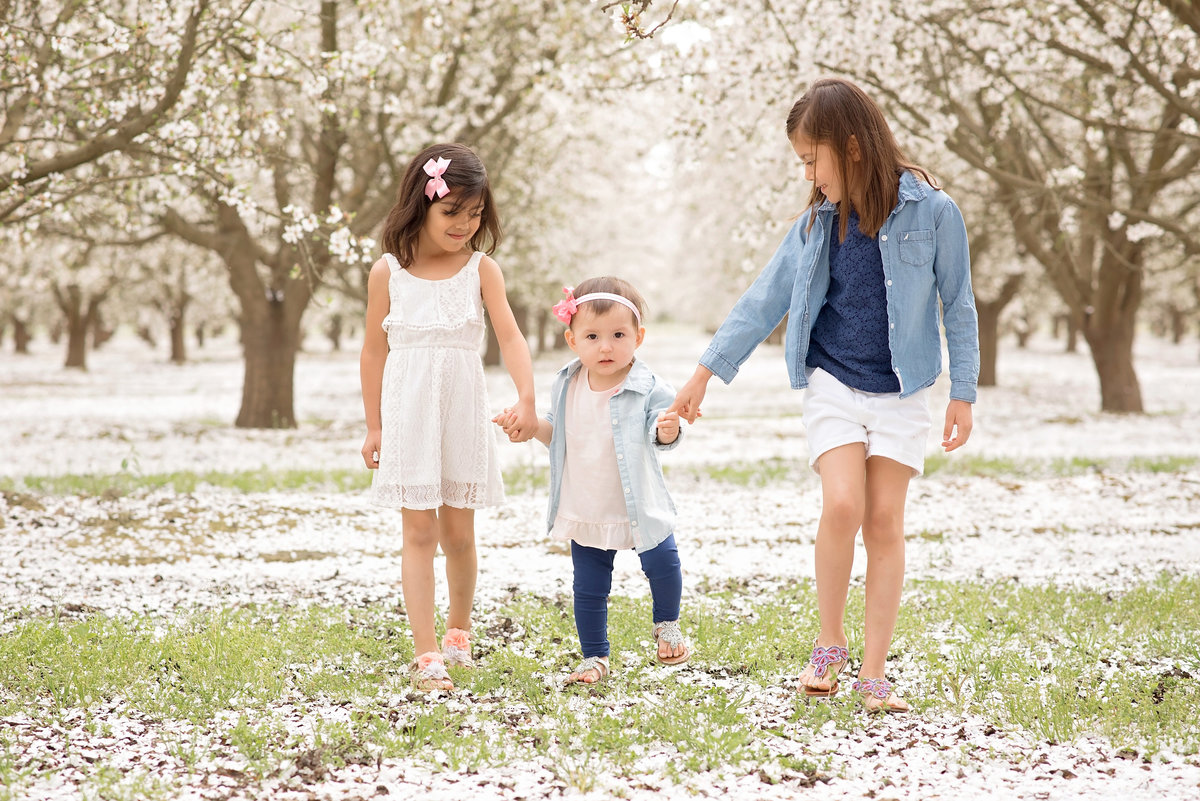 blossom trail family session