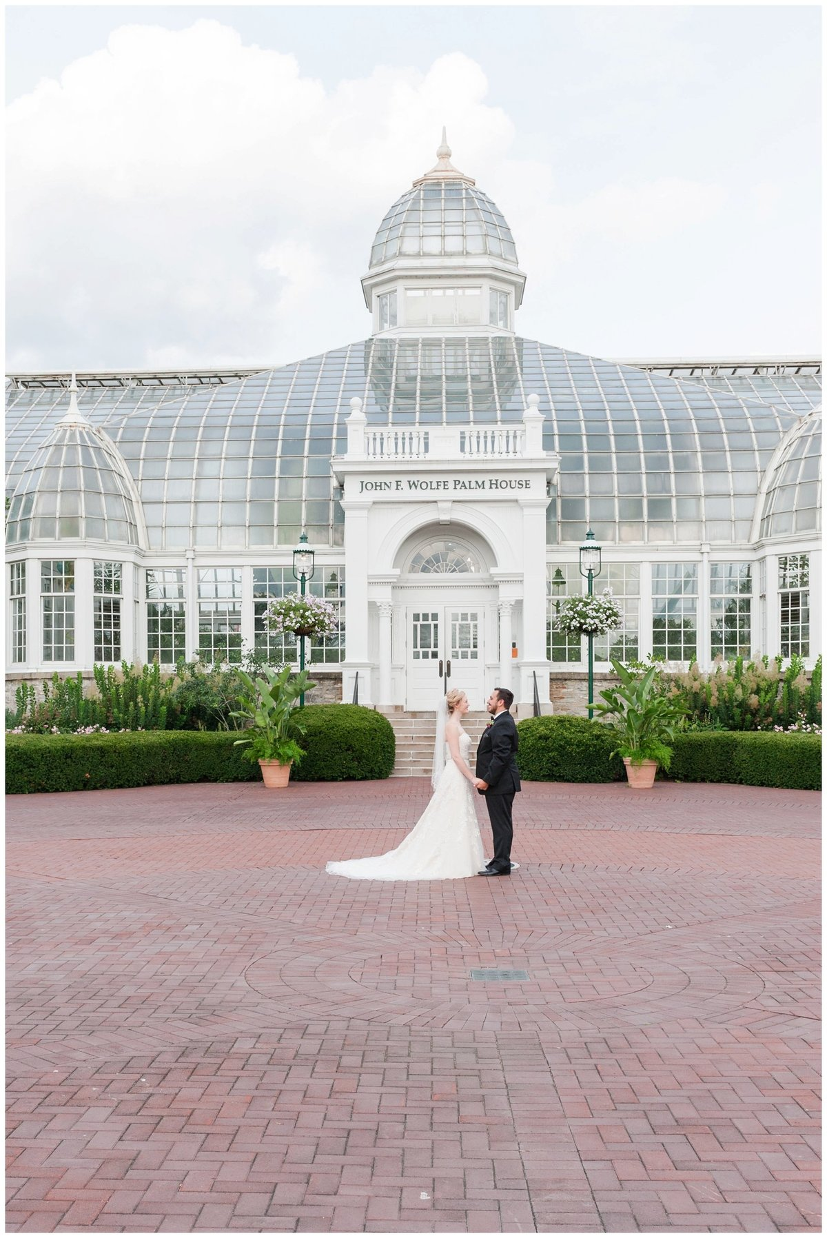 Franklin Park Conservatory Wedding The Palm House Bridal Garden Grove_0101