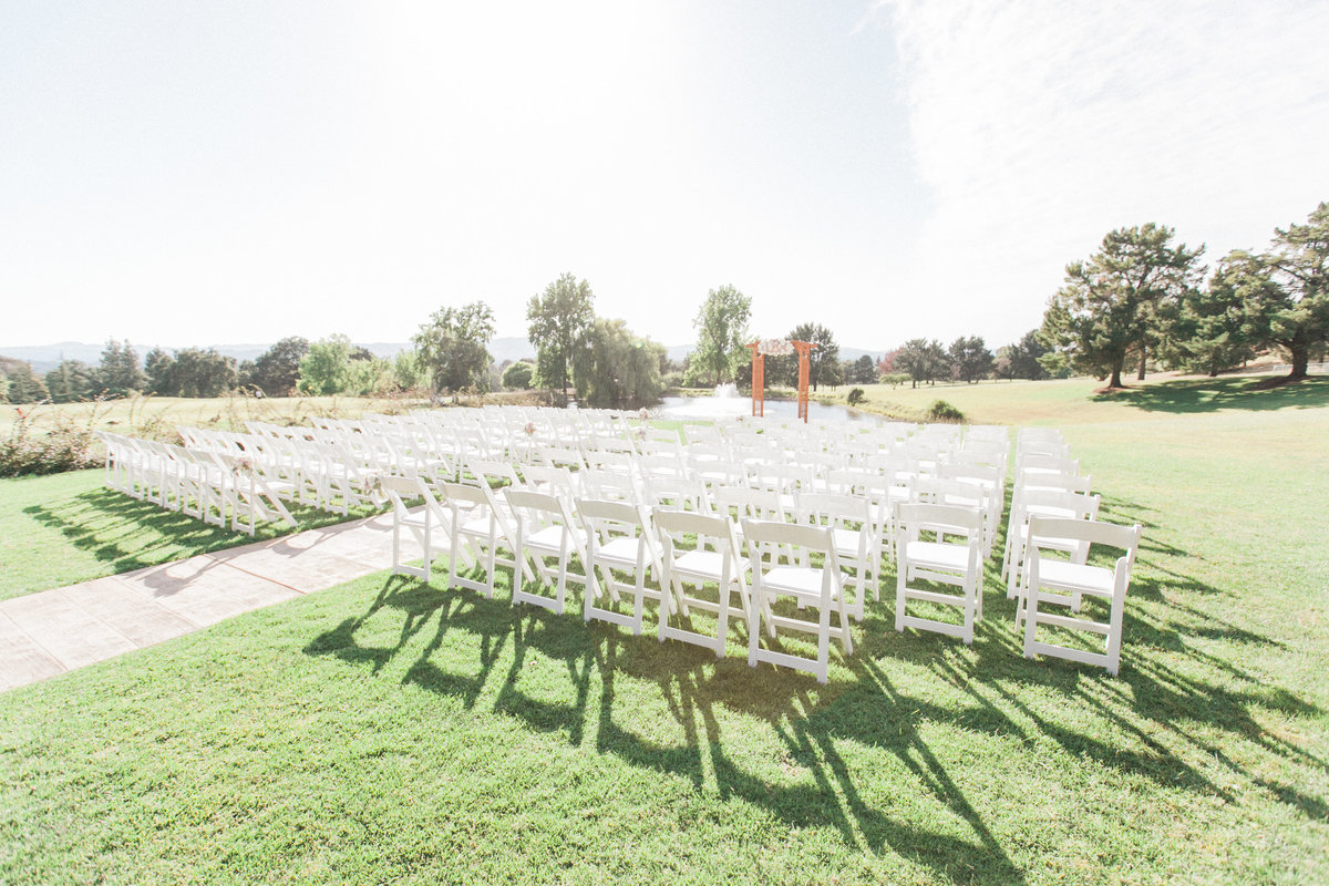 Wedding Ceremony Boundary Oak