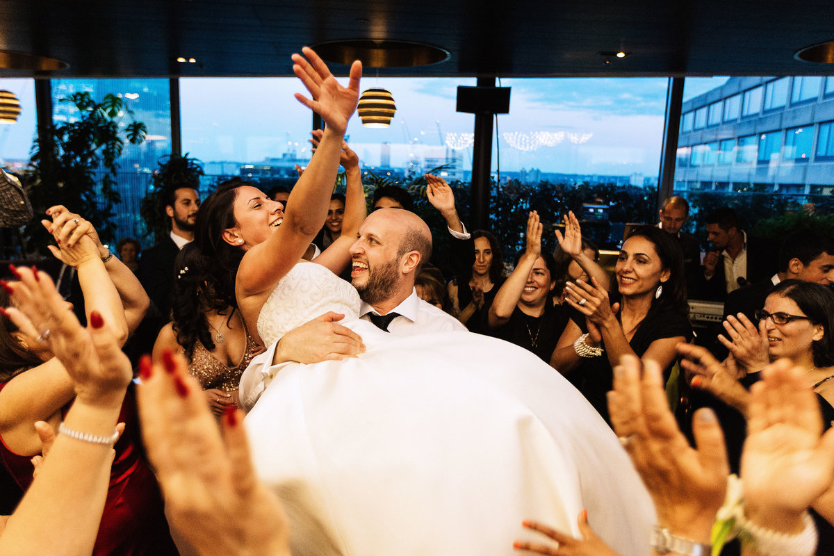 Jewish Wedding Phots at The Sea Containers in London City