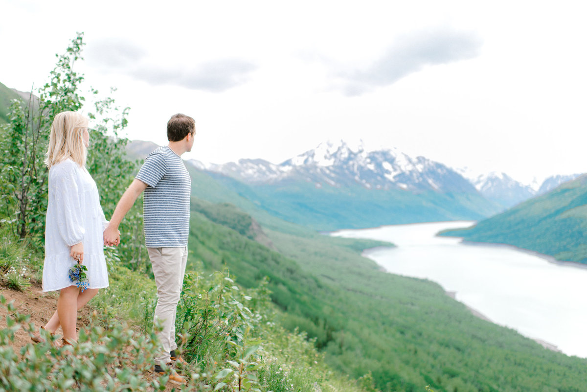 Eklutna engagement film photography
