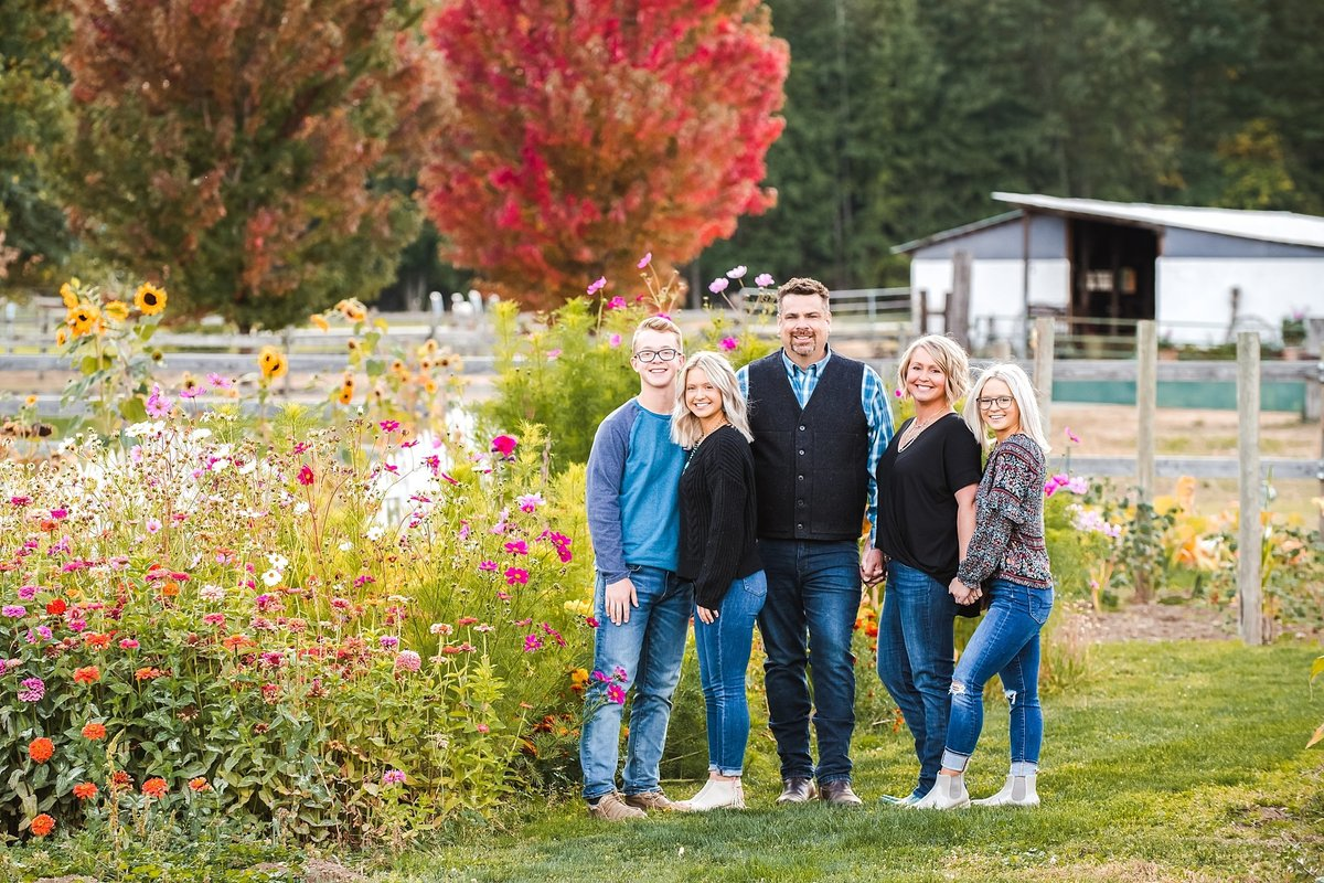 Fall Family Portraits in Ellensburg