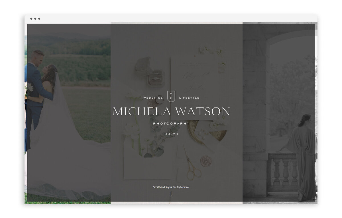 Michela Watson Photography - Custom Brand and Web Design for Fine Art Photographer - With Grace and Gold - Best Showit Website Designer - 14