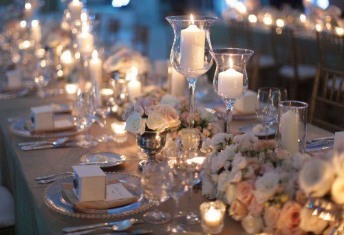 Estate Table Decor tablescape
