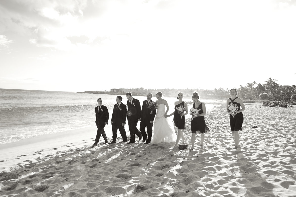 Hawaii Wedding Party