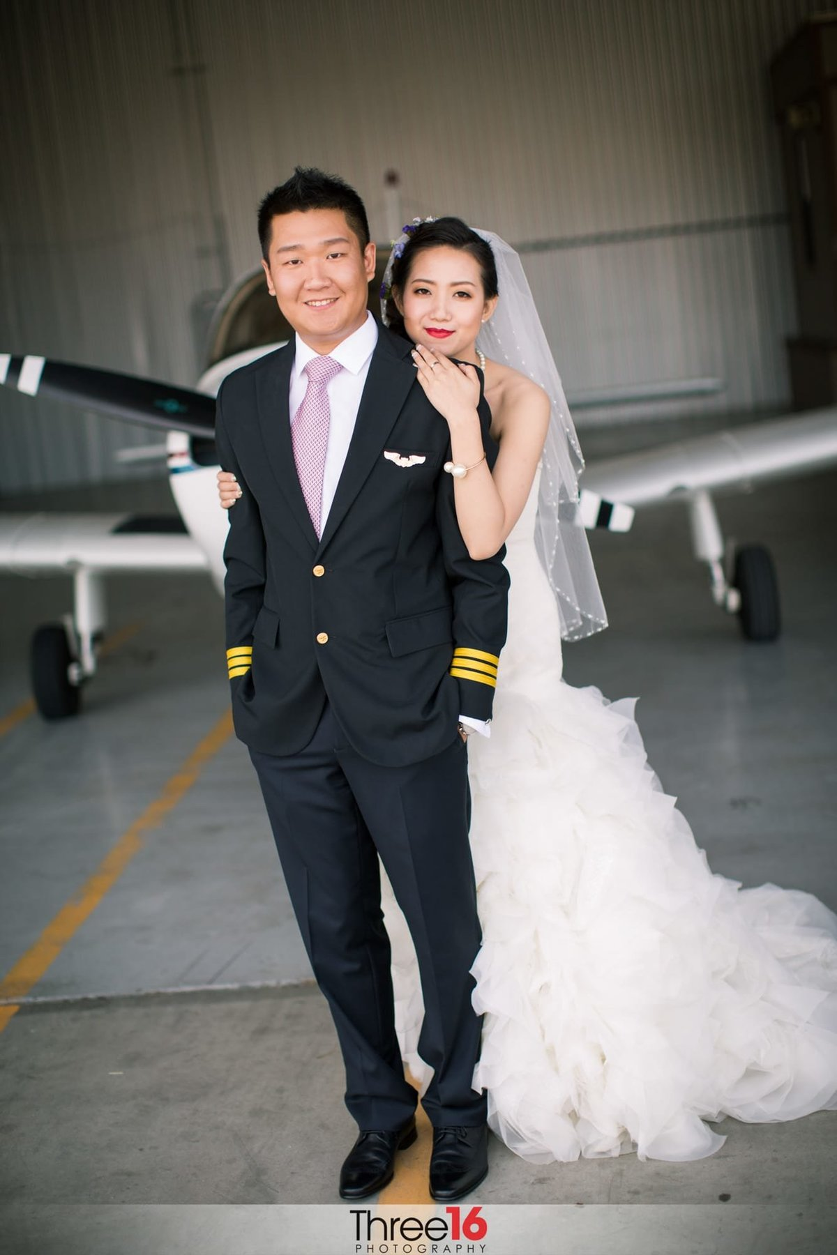 Planes of Fame Air Museum Wedding Chino Hills Orange County Wedding Photography