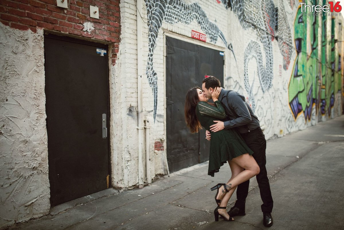 Yost Theater Engagement Photos Santa Ana