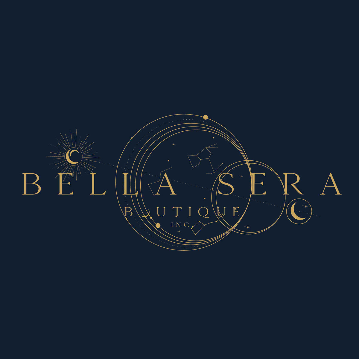 Bella Sera Boutique Brand Design