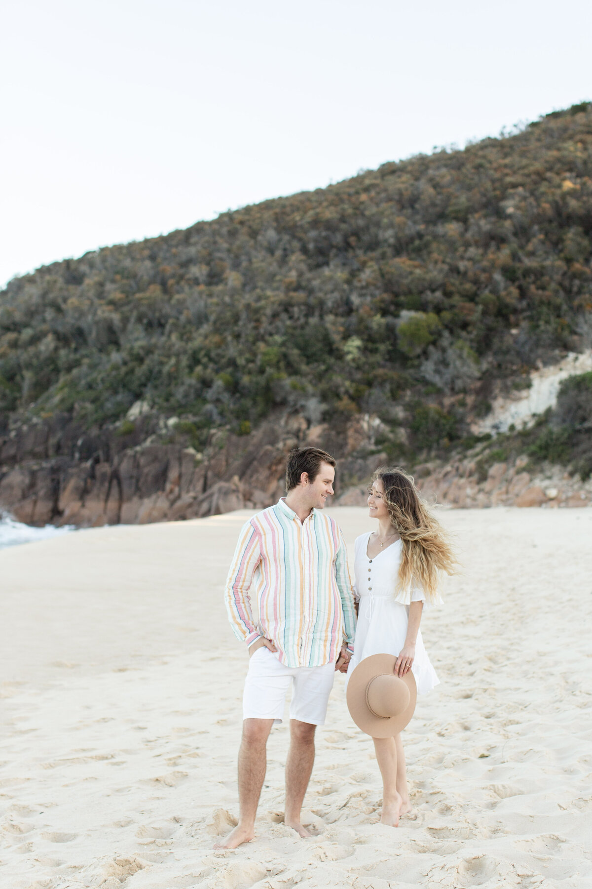 Newcastle NSW Wedding Photographer, Port Stephens Zenith Beach, Hunter Valley Photographer - Fine Art Film Wedding Photographer - Sheri McMahon -00013