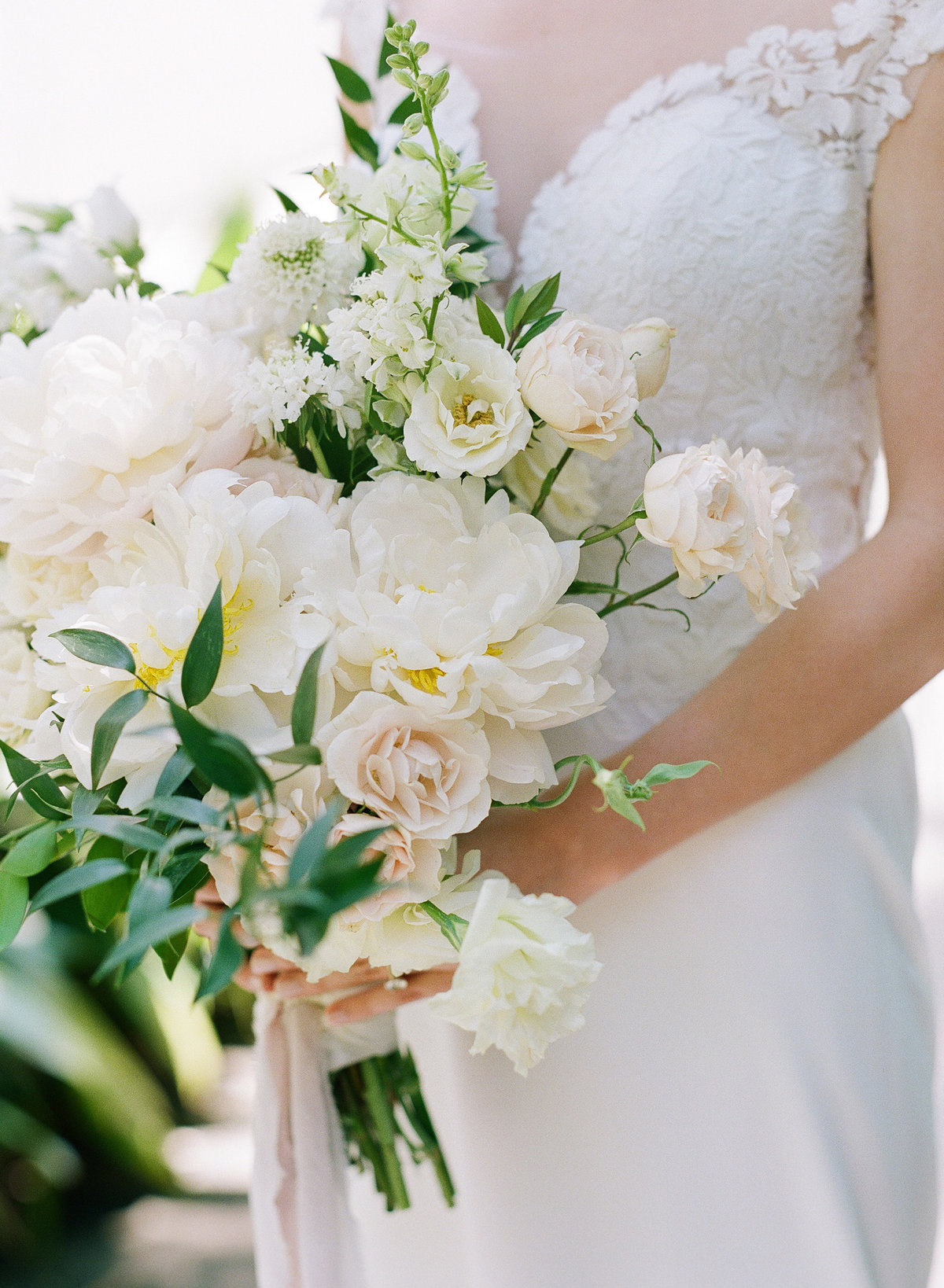 Spring Bridal Bouquet, Elegant Athens Wedding