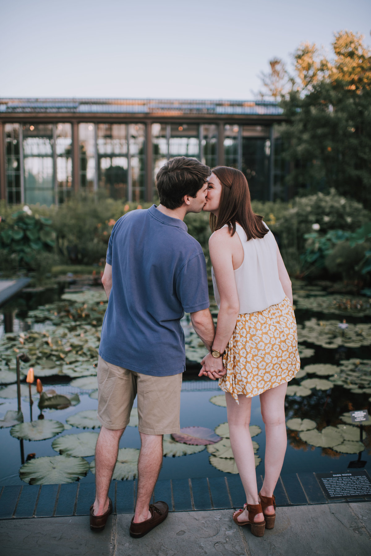 Longwood Gardens Engagement MLE Pictures-32