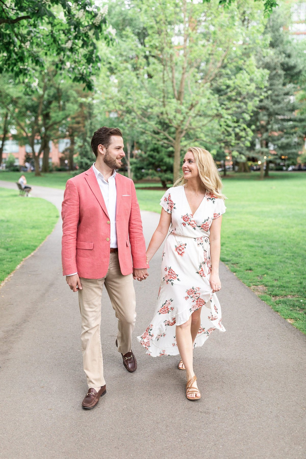Boston Engagement Photos By Halie - Michelle and Tony-4106