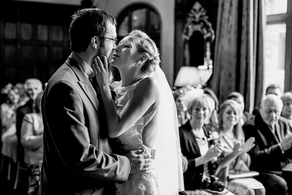 First Kiss at Huntsham Court Devon